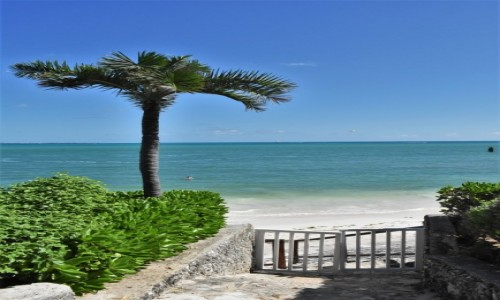 Zdjecie MEKSYK / Jukatan / Cancun / Cancun, morze