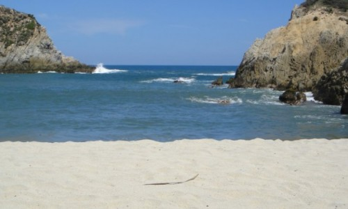 Zdjecie MEKSYK / Michoacan / Wybrzeże pacyficzne / Plaża daleko od Jukatanu