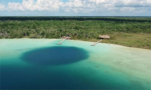 Zdjecie MEKSYK / Quintana Roo / Laguna Kaan Luum / Laguna Kaan Luum