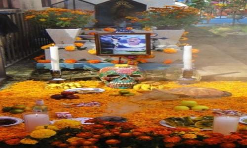 Zdjecie MEKSYK / Morelos / Cuernavaca / Ołtarz na Dzień Zmarłych