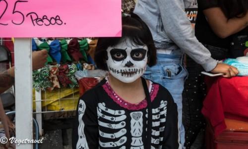 Zdjecie MEKSYK / Mexico City  / Coyoacan  / Dia de Muertos