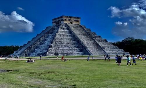 Zdjecie MEKSYK / Riwiera Maja  / Chcichen Itza  / Chichen Itza Piramida
