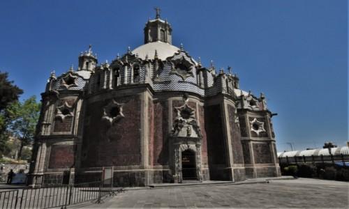 Zdjęcie MEKSYK / Mexico City / Sanktuarium / Guadalupe, miejsce 4 objawienia