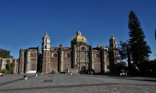 Zdjęcie MEKSYK / Mexico City / Sanktuarium / Guadalupe, stara bazylika