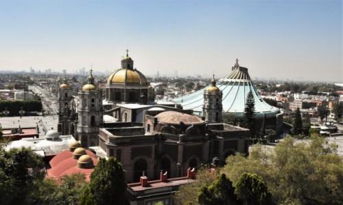 Zdjecie MEKSYK / Mexico City / Sanktuarium / Guadalupe