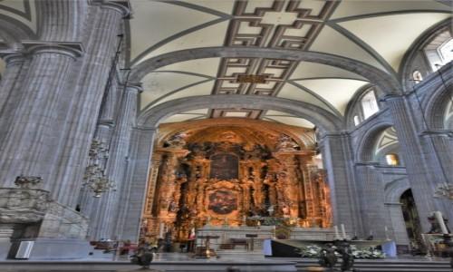 Zdjecie MEKSYK / Mexico City / Mexico City / Mexico City katedra
