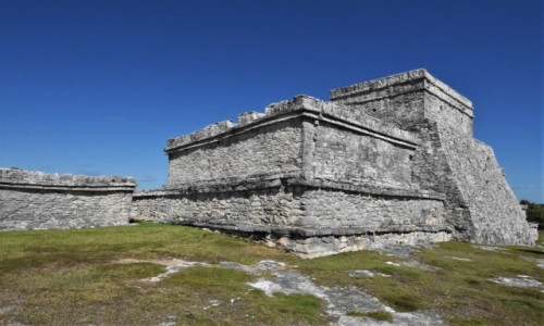 MEKSYK / Jukatan / Tulum / Tulum, ruiny majów