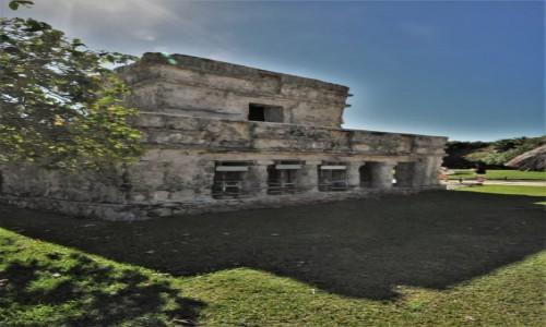 Zdjecie MEKSYK / Jukatan / Tulum / Tulum, ruiny majów