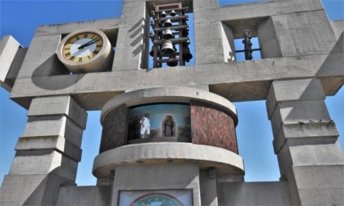 Zdjecie MEKSYK / Mexico City / Guadalupe / Guadalupe, sanktuarium, zegar z historią objawień