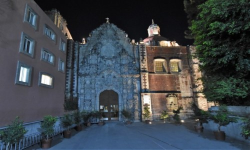 Zdjecie MEKSYK / Mexico City / Mexico City / Mexico City, kościół franciszkanów