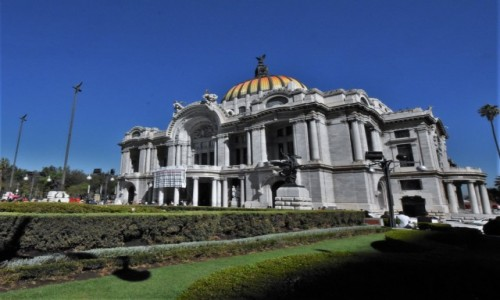 Zdjecie MEKSYK / Stolica / Mexico City / Mexico City, Palacio de Bellas Artes