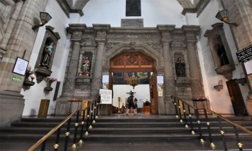 Zdjecie MEKSYK / Stolica / Mexico City / Mexico City, Templo de San Francisco