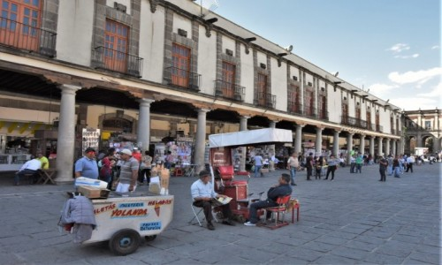 Zdjecie MEKSYK / Stolica / Mexico City / Meksyk, Plaza de Santo Domingo