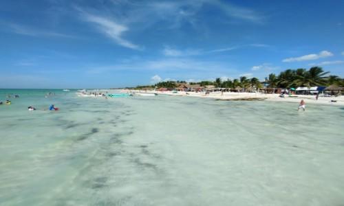 Zdjecie MEKSYK / Wyspa Holbox / - / Plaża