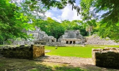 Zdjecie MEKSYK / Tulum / Muyil / Ruiny w Muyil