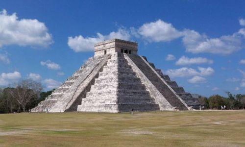 Zdjecie MEKSYK / brak / Jukatan / Chichen Itza / El Castillo