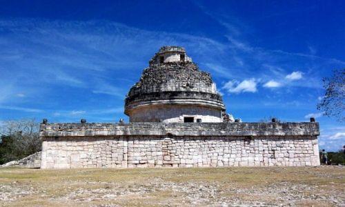 Zdjecie MEKSYK / brak / Jukatan / El Caracol w Chichen Itza