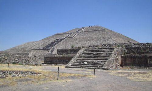 Zdjecie MEKSYK / brak / Museum Teotihuacan / Piramida w Museum Teotihuacan