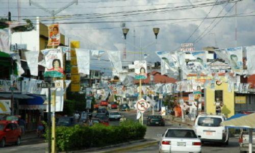 Zdjecie MEKSYK / Chiapas / Palenque / Współczesne Palenque