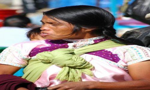 Zdjecie MEKSYK / Chiapas / San Juan Chamula / Miejscowa indianka