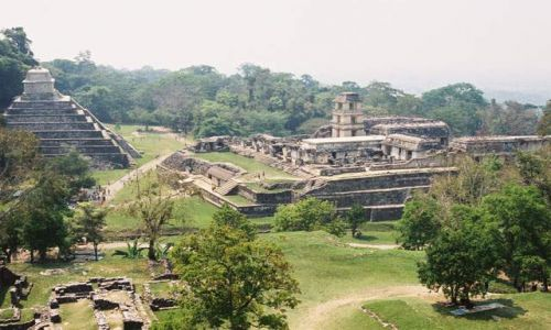 Zdjecie MEKSYK / Jukatan / Palenque / Palenque - Wielki Pałac i Światynia Inskrypcji