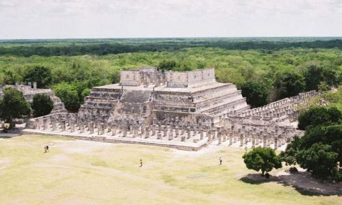 Zdjęcie MEKSYK / Jukatan / Chichen Itza / Chichen Itza - Świątynia Wojowników i Kompleks Tysiąca Kolumn
