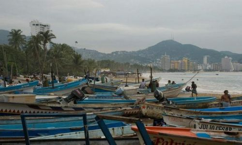 Zdjęcie MEKSYK / stan Guererro / nabrzeże w rejonie starego miasta / Bahia Acapulco