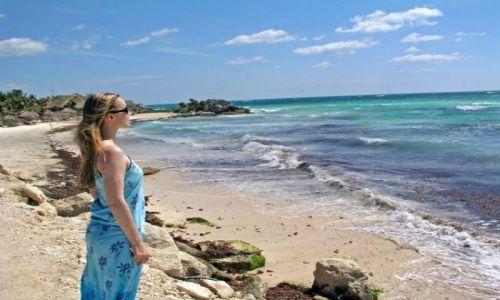 Zdjecie MEKSYK / płw. Jukatan / Tulum / Tulum-prawie raj...