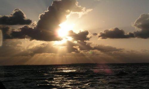 Zdjecie MEKSYK / Isla Mujeres / Jukatan / Zachód słońca