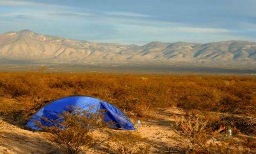 Zdjecie MEKSYK / Zacatecas / Estacion Catorce / na pustyni...