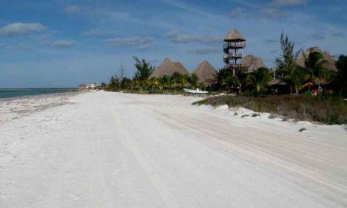 Zdjecie MEKSYK / Jukatan / Holbox / biała droga