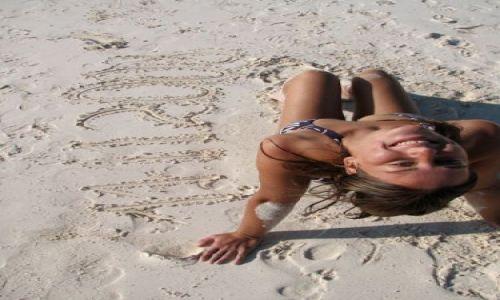 Zdjecie MEKSYK / Riwiera Majów / Tulum / na plaży o białym piasku