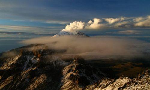 Zdjęcie MEKSYK / brak / Zbocza wulkanu Iztaccihuatl / Popocatepetl
