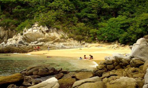 Zdjecie MEKSYK / brak / Huatulco / Playa la Entrega