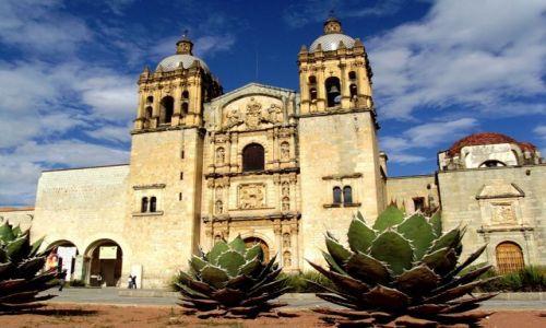 Zdjecie MEKSYK / brak / Oaxaca / Iglesia de Sant