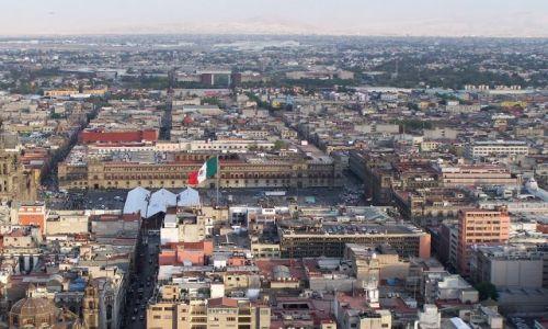Zdjęcie MEKSYK / Meksyk / City / widok na parlament