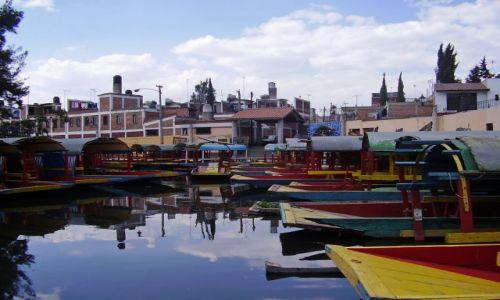 Zdjęcie MEKSYK / Meksyk / Xochimilco / Xochimilko