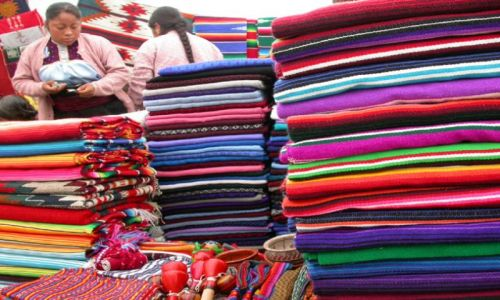 Zdjęcie MEKSYK / san sristobal de las casas / targ / kolory meksyku