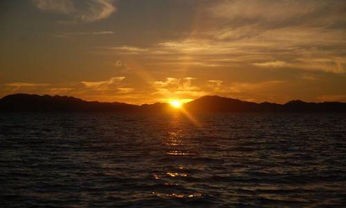 Zdjęcie MEKSYK / Baja California Sur / Wyspa Carmen / Dzień się kończy na Carmen