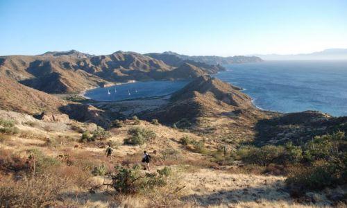 Zdjęcie MEKSYK / Baja California Sur / Nad zatoką / Puerto Escondido
