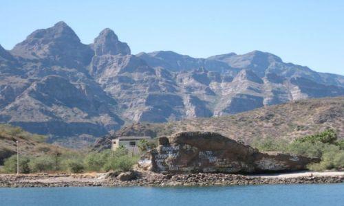 Zdjęcie MEKSYK / Meksyk  / Baja California Sur / Marynarskie autografy