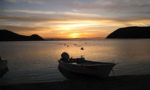 Zdjecie MEKSYK / Baja California Sur / Espiritu Santo / Wieczór na przystani rybackiej