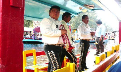 Zdjecie MEKSYK / Meksyk / Xochimilco / Mariachi