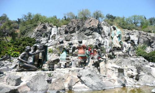 Zdjecie MEKSYK / Meksyk / Sanktuarium / Pomnik -objawienie Matki Boskiej z Guadalupy