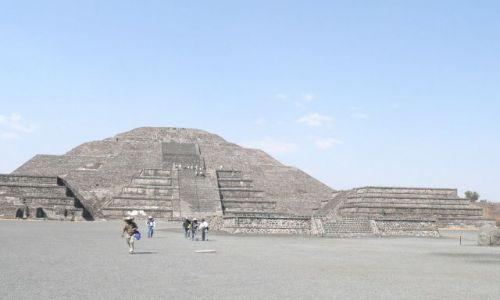 Zdjęcie MEKSYK / Meksyk / Okolice Tenochtitlan / Piramida słońca