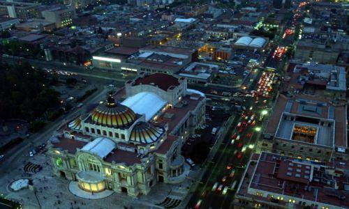 Zdjecie MEKSYK / brak / Mexico City / Mexico City z lotu ptaka