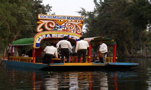 Zdjecie MEKSYK / brak / Xochimilco /  Mariachi na łódkach w Xochimilco