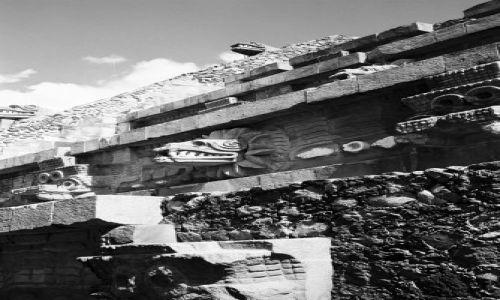 MEKSYK / brak / Teotihuacan - centrum archeologiczne / Teotihuacan - fragment Cytadeli
