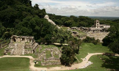 MEKSYK / Tabasco & Chiapas / Palenque Ruins / Palenque Ruins