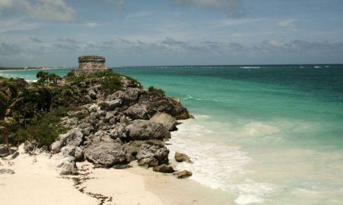 MEKSYK / Yucatan Penisula / Tulum / ruiny w Tulum
